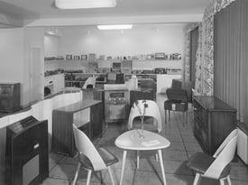 Kilchenmann Geschichte 1939 zeigt Verkaufsgeschäft in Bern