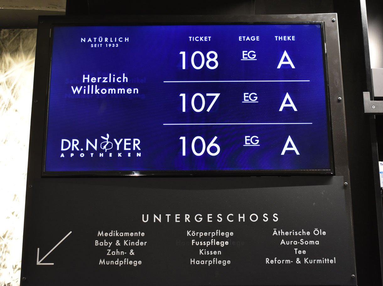 Referenzbild Dr. Noyer Neuengasse, Bern