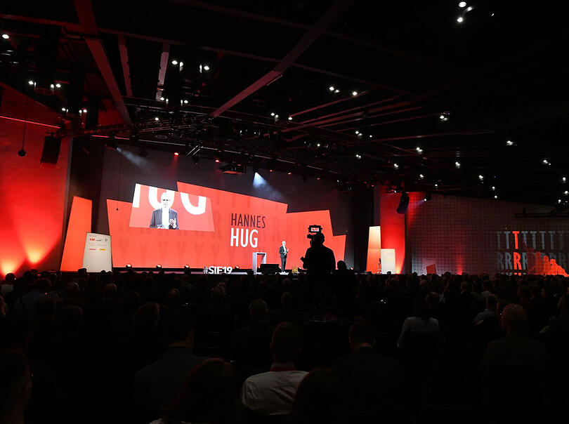 Referenzbild Swiss Innovation Forum 2019, Basel