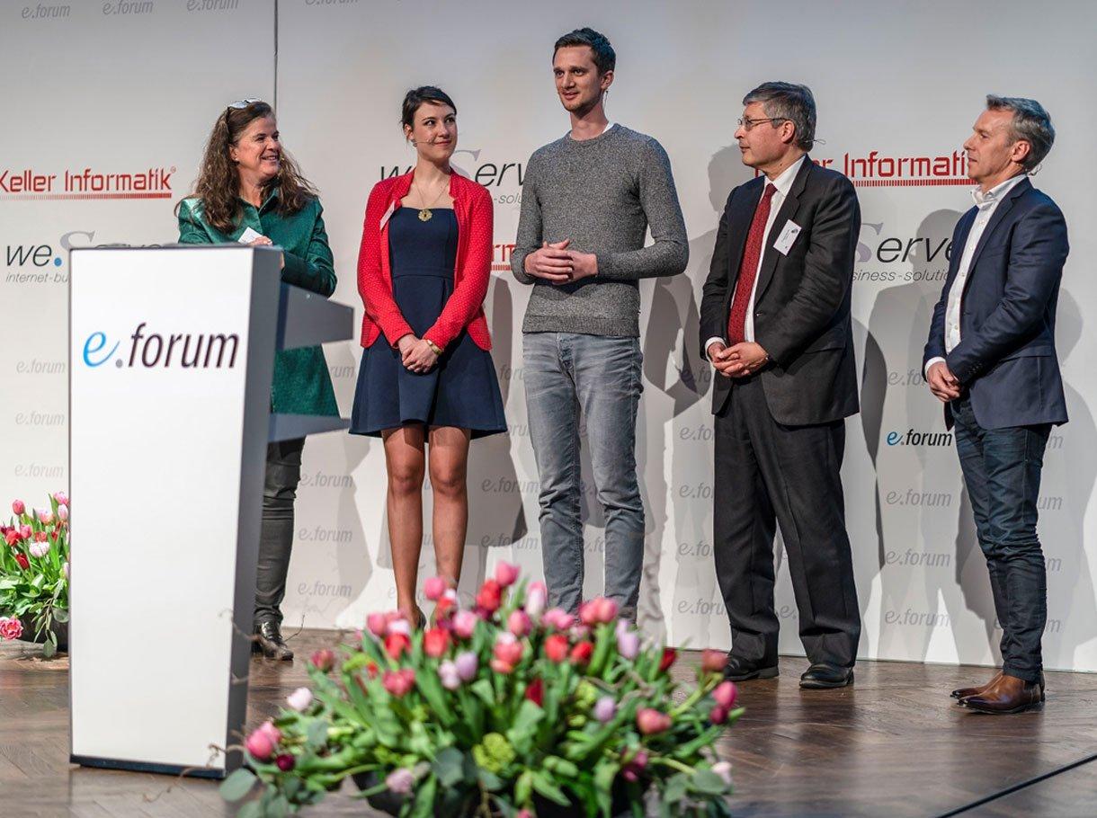 Referenzbild e-forum Bern, Bühne