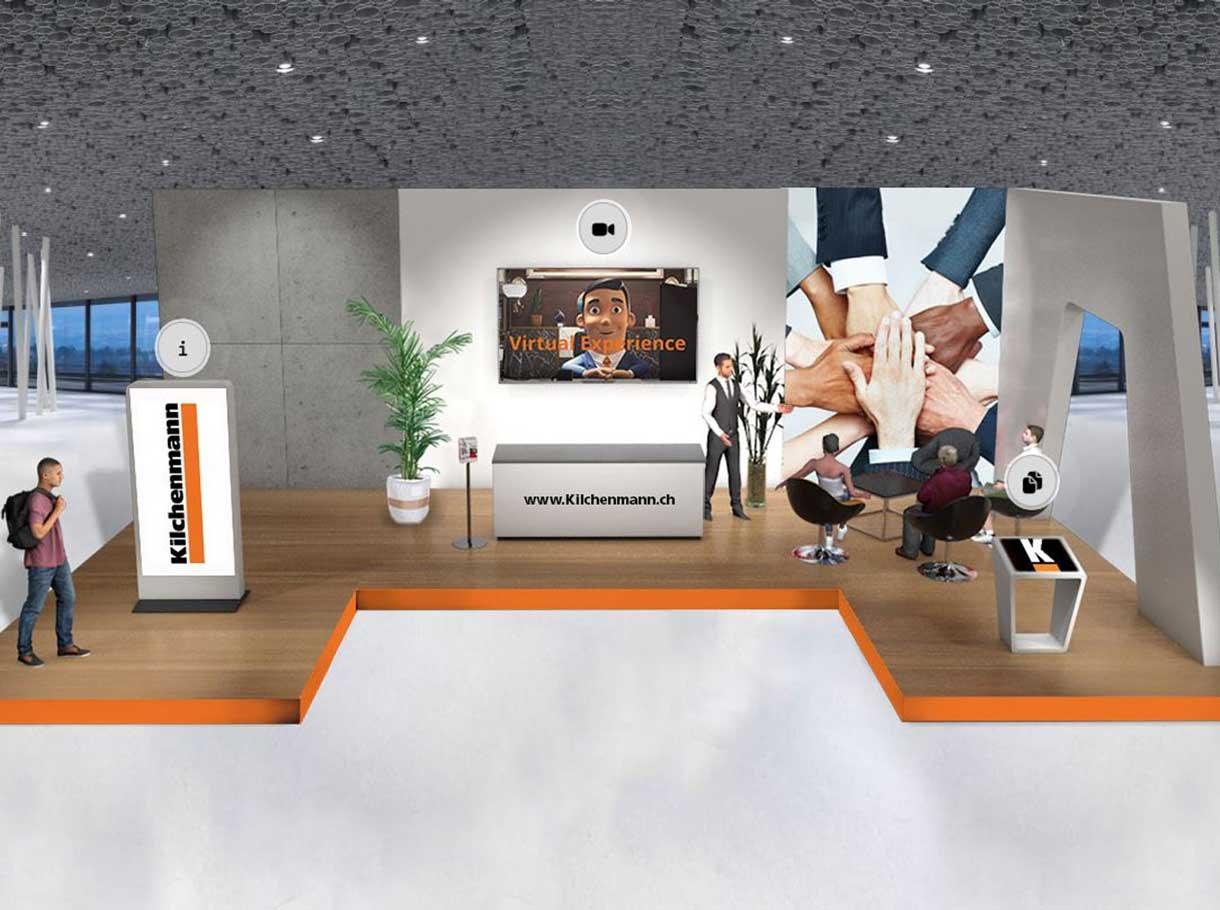 Asut Konferenz - virtual experience Messestand