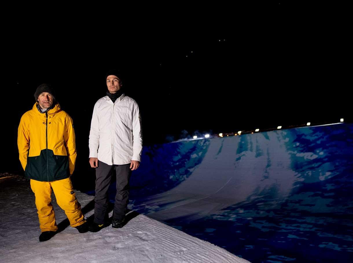 Zwei Olympiasieger bringen die Halfpipe zum Leuchten