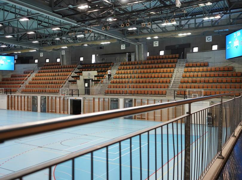 Sporthalle Wankdorf , Bern, LED