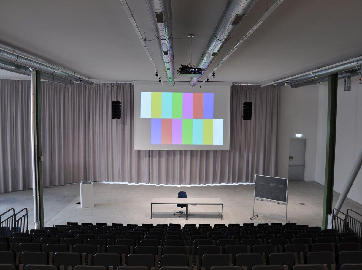 Referenzbild ETH Fokus-Halle Tonanlage