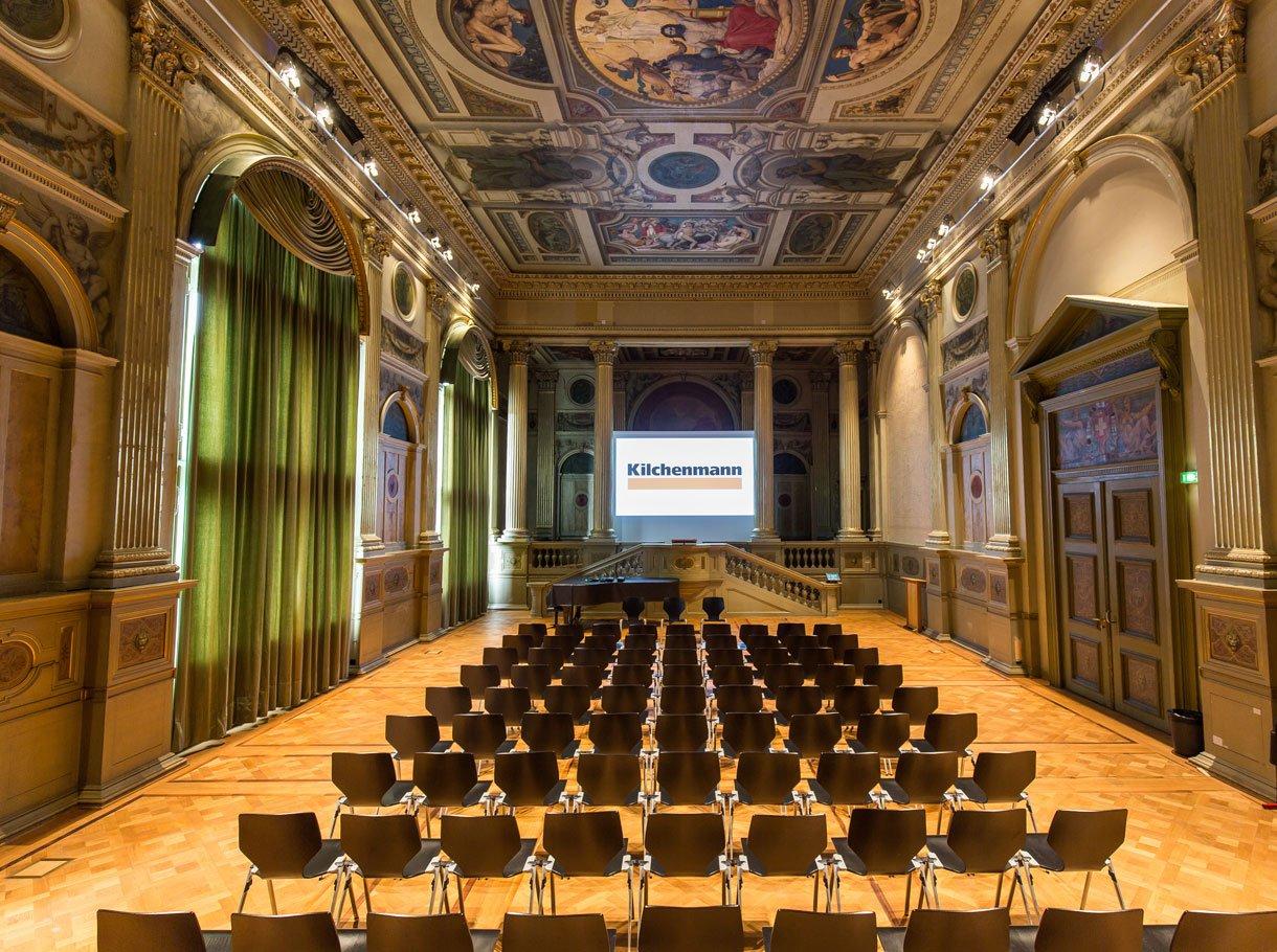 Innenraum Einrichtung bei der Referenz ETH HG