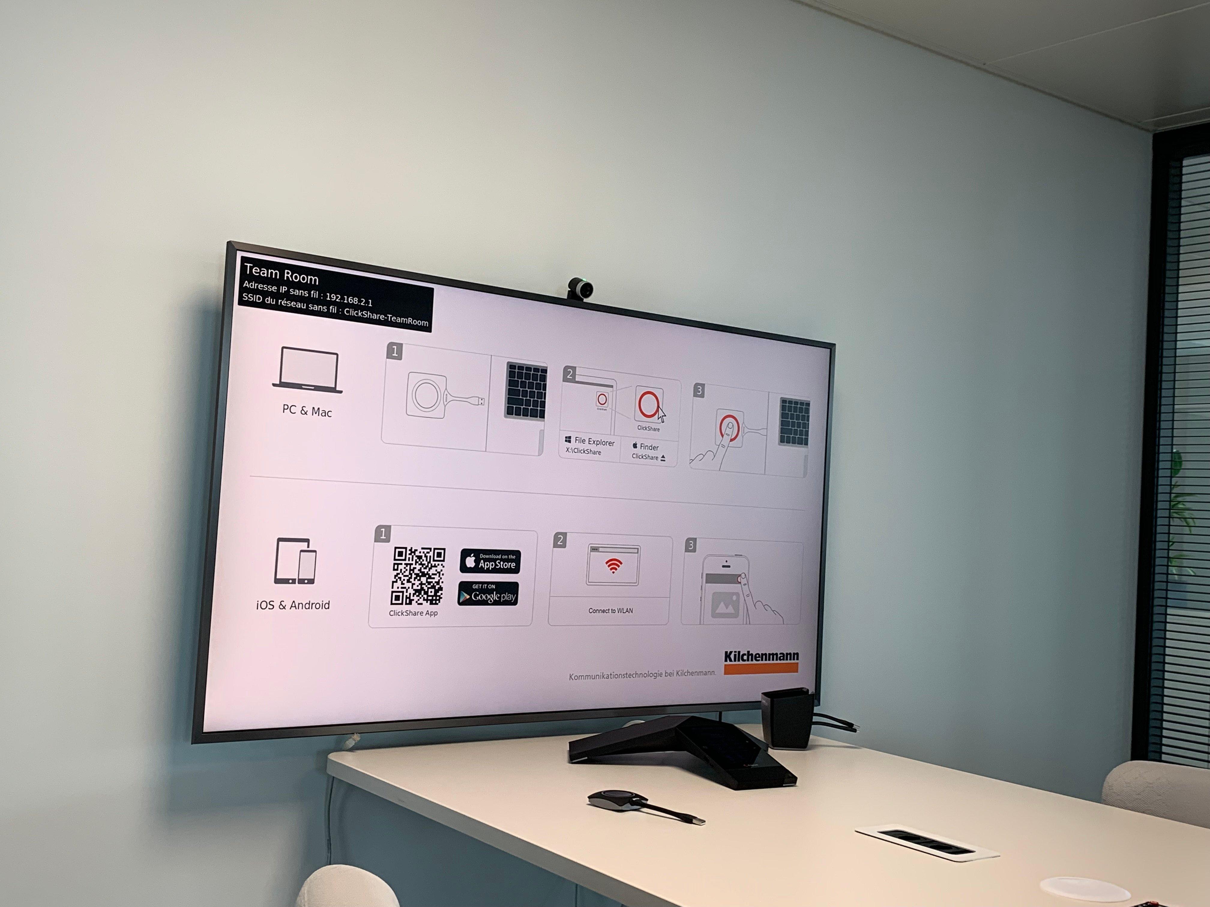 Referenzbild Patrimonium mit Telefonkonferenzsystem