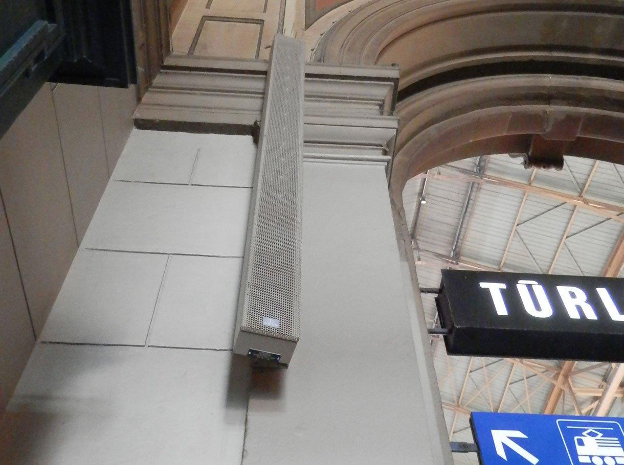 Referenzbild Hauptbahnhof Zürich Tonanlagen