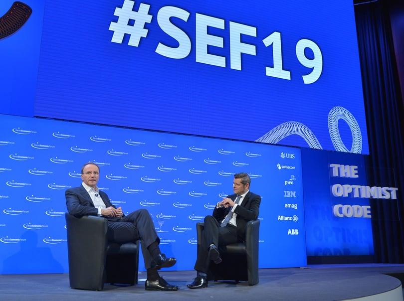 Referenzbild Swiss Economic Forum SEF, Interlaken