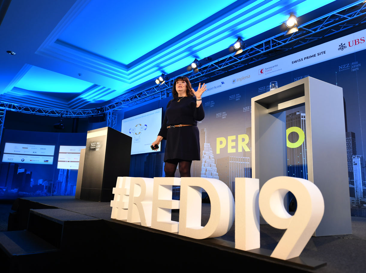 Referenzbild NZZ Real Estate Days, Interlaken 2019
